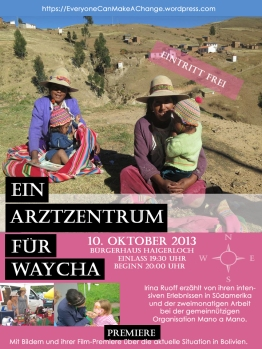 2013-10-01 Plakat Vortrag Bürgerhaus Hgl