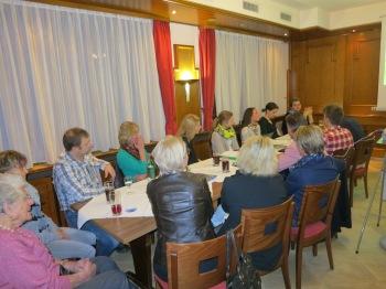 Oma Liesel unser Ehrengast war auch mit von der Partie